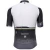 Santini Sleek Plus Jersey korte mouwen Heren wit/zwart
